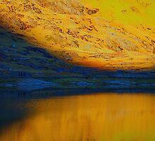 Yellow Mountain Walk by Karen Harding