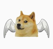 Angel Doge Kids Clothes