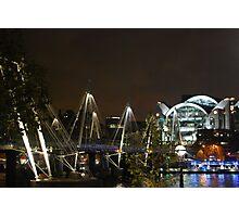 Waterloo at night Photographic Print