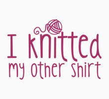 I knitted my other shirt  by jazzydevil