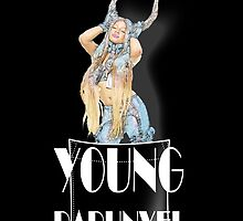 Azealia Banks – Young Rapunxel - BLACK by foulemilch