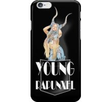 Azealia Banks – Young Rapunxel - BLACK iPhone Case/Skin