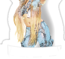 Azealia Banks – Young Rapunxel - BLACK Sticker