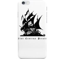 21st Century Pirate iPhone Case/Skin