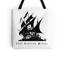21st Century Pirate Tote Bag