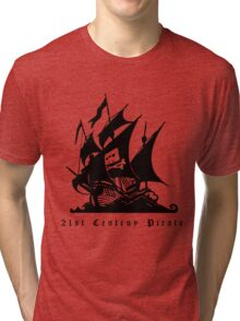 21st Century Pirate Tri-blend T-Shirt