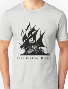 21st Century Pirate Unisex T-Shirt