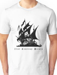 21st Century Pirate Unisex T-Shirt