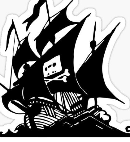 21st Century Pirate Sticker