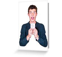 Mendes Greeting Card