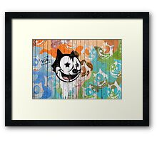 Street Art: global edition # 18 Framed Print