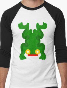 Aztec frog V2 Men's Baseball ¾ T-Shirt