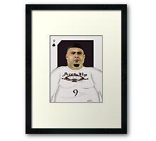 9 of Club - Ronaldo Framed Print