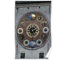 Lier - Zimmer Clock Poster