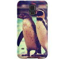 Penguin Parade at London Zoo  Samsung Galaxy Case/Skin