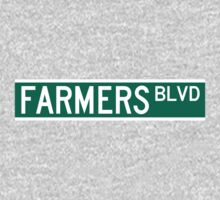 Farmers Boulevard Sign Kids Clothes