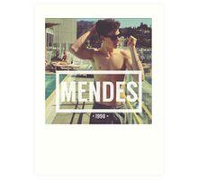 Mendes Art Print