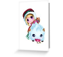 Poro Rider Sejuani Greeting Card