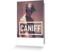 Caniff Greeting Card