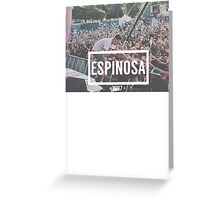 Espinosa Greeting Card