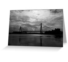 Urban Landscape # 10 Glebe Island Bridge  Greeting Card