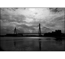 Urban Landscape # 10 Glebe Island Bridge  Photographic Print