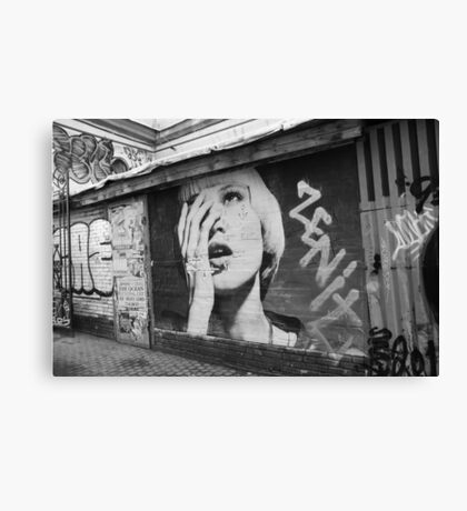 Urban girl Canvas Print