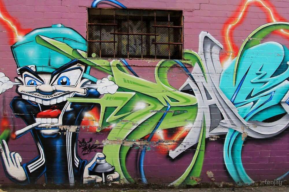 Street Art: global edition # 49 by fenjay