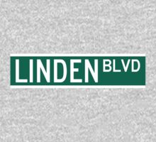 Linden Boulevard Sign Kids Clothes