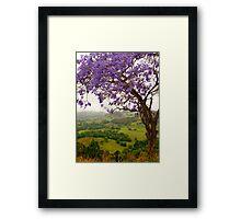 Tropical hide-away Framed Print