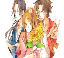 Samurai Champloo trio  by legendofsarah