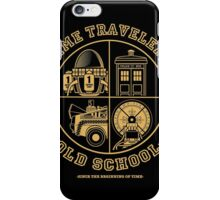 TIME TRAVELERS OLD SCHOOL iPhone Case/Skin