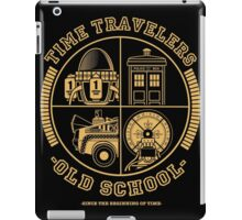 TIME TRAVELERS OLD SCHOOL iPad Case/Skin