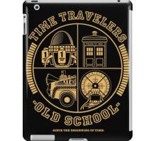 TIME TRAVELERS OLD SCHOOL iPad Case/Skin