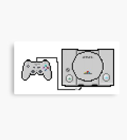 Playstation Sprite - Love the first generation! Canvas Print