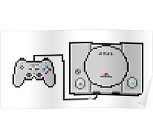 Playstation Sprite - Love the first generation! Poster