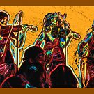 The fiddlers by Lior Goldenberg