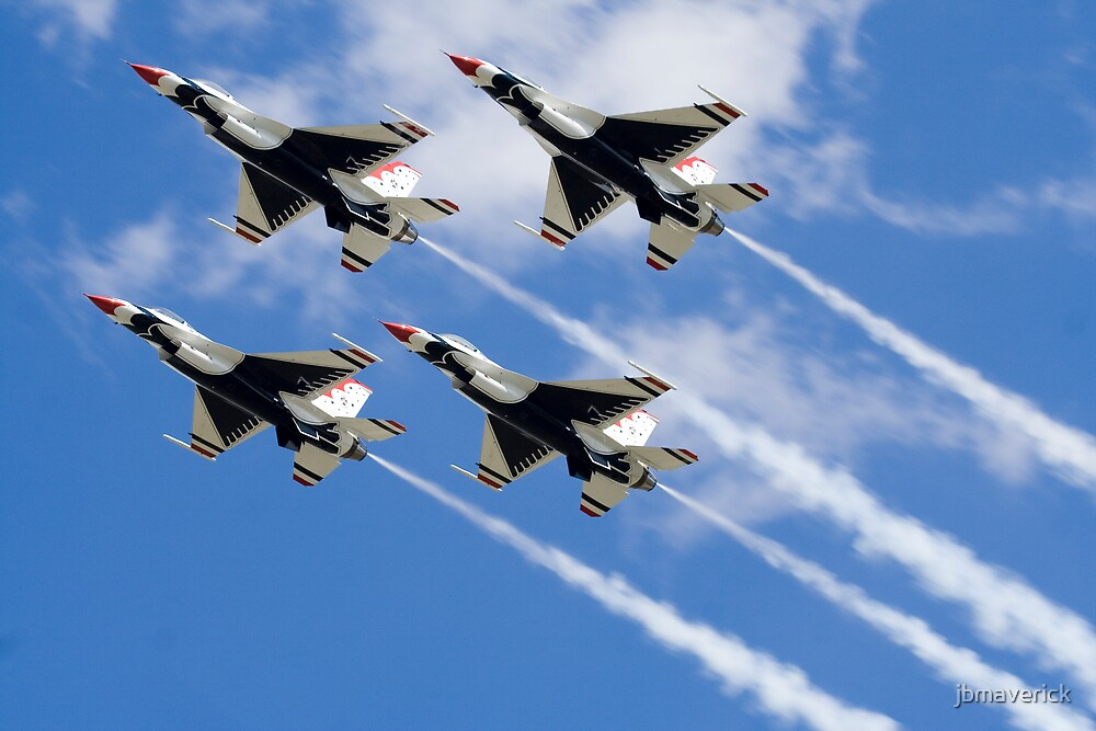 Thunderbirds in Action by jbmaverick