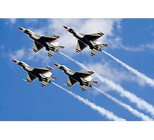 Thunderbirds in Action Photographic Print
