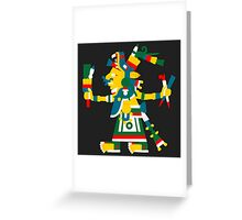 Chalchihuitlicue V2 Greeting Card