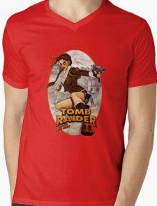 Tomb Raider II Mens V-Neck T-Shirt