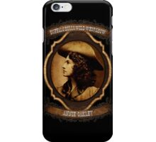 Annie Oakley Buffalo Bill's Wild West Show Sharpshooter iPhone Case/Skin