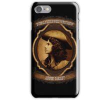 Annie Oakley Buffalo Bill's Wild West Show Sharpshooter iPhone Case/Skin