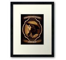 Annie Oakley Buffalo Bill's Wild West Show Sharpshooter Framed Print