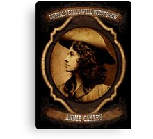 Annie Oakley Buffalo Bill's Wild West Show Sharpshooter Canvas Print