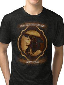 Annie Oakley Buffalo Bill's Wild West Show Sharpshooter Tri-blend T-Shirt
