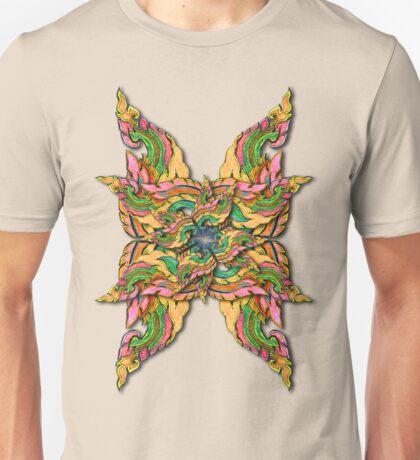 Thai Flame, manipulated T-Shirt