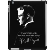 F. Scott Fitzgerald Design iPad Case/Skin