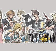 Final Fantasy Characters by Laren17