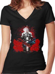The Devil Women's Fitted V-Neck T-Shirt